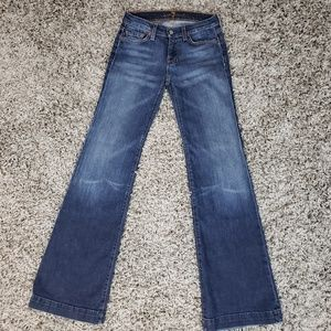 7 for All Mankind Dojo Jean's Size 26